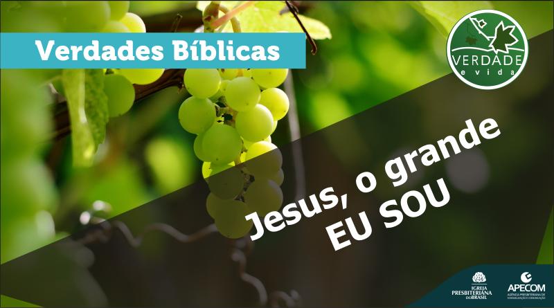 0643 – Jesus, o grande EU SOU
