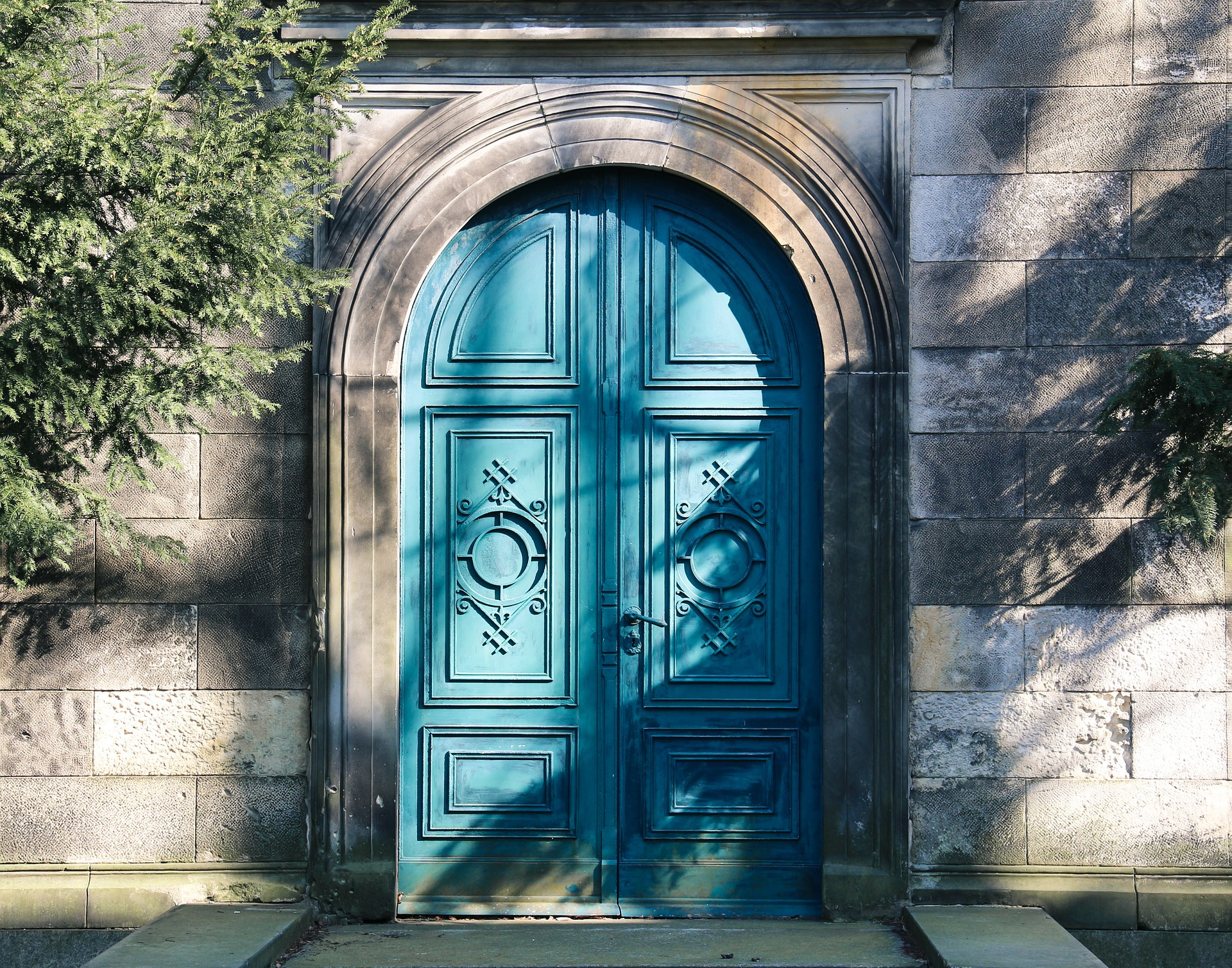 Deus fechou a porta