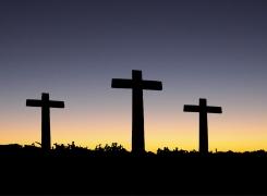 Três cruzes no Calvário